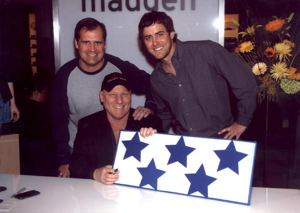 Scott Ingram with Steve Madden